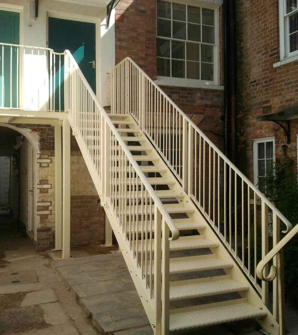 metal fabrication specialists staircase