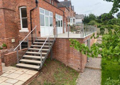 Staircase & Balcony Garden Project